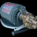 "Gear Pump and Motor for OC-20 and OC-50 with 3/8 ID x 48"" suction and pressure hoses."